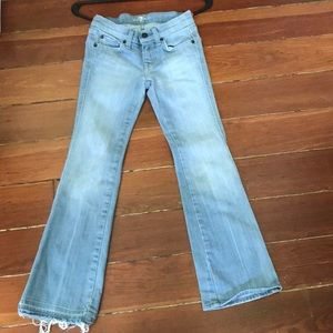 7 for All Mankind Girls A Pocket Jeans 8